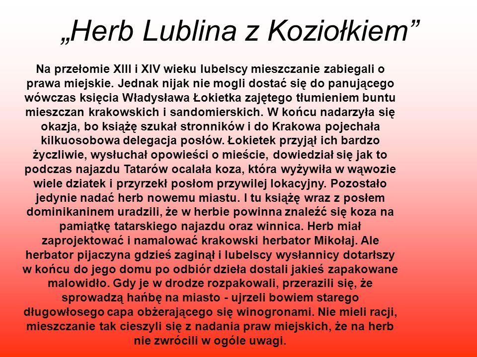 """""""Herb Lublina z Koziołkiem"""