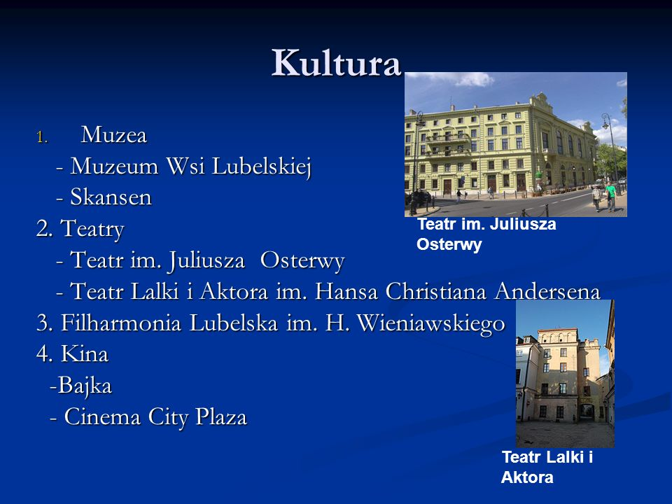 Kultura Muzea - Muzeum Wsi Lubelskiej - Skansen 2. Teatry