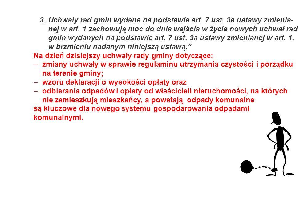 3. Uchwały rad gmin wydane na podstawie art. 7 ust
