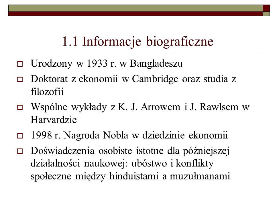 1.1 Informacje biograficzne