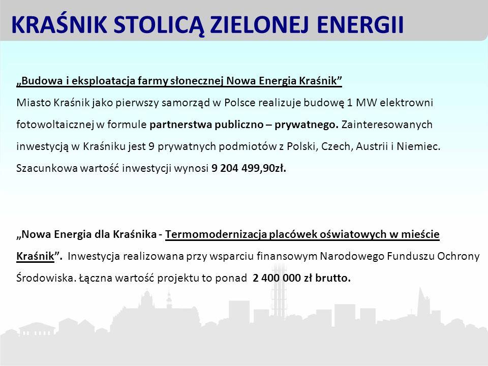 KRAŚNIK STOLICĄ ZIELONEJ ENERGII