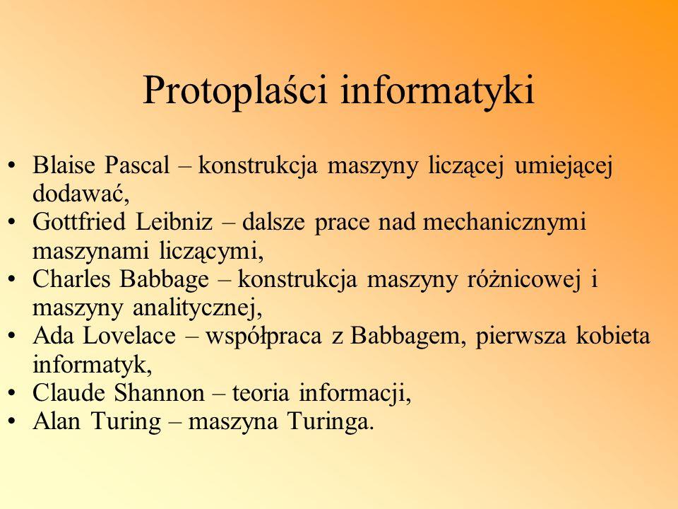 Protoplaści informatyki