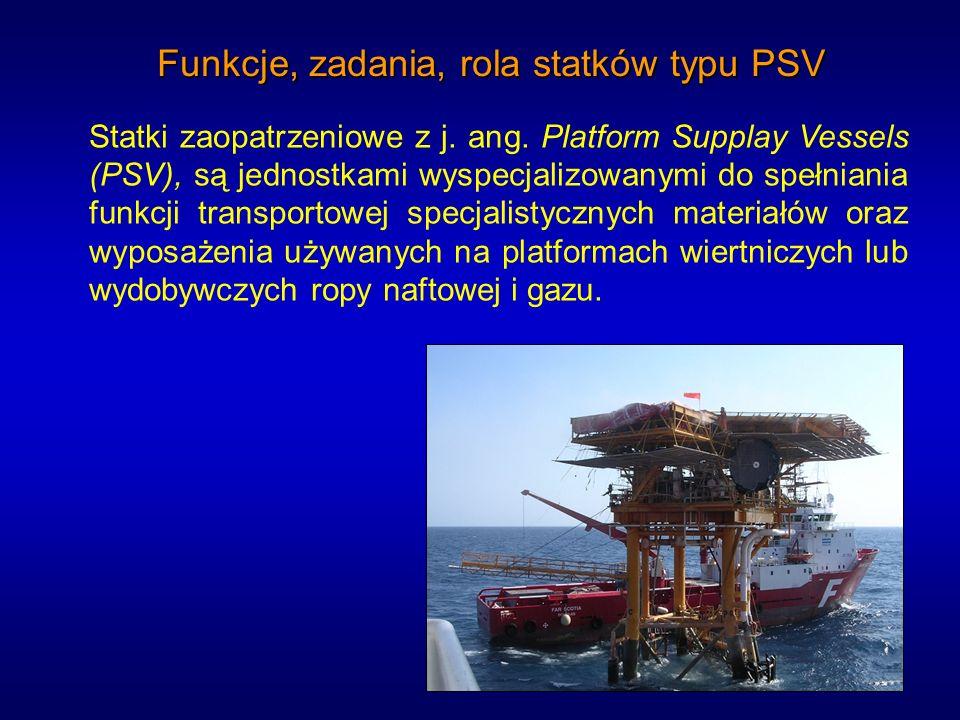 Funkcje, zadania, rola statków typu PSV