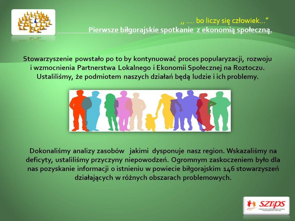 ,, …. bo liczy się człowiek… Pierwsze biłgorajskie spotkanie z ekonomią społeczną.