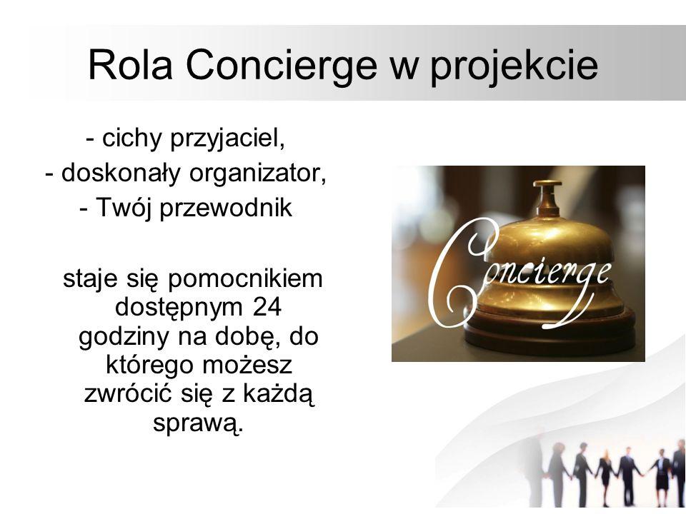 Rola Concierge w projekcie