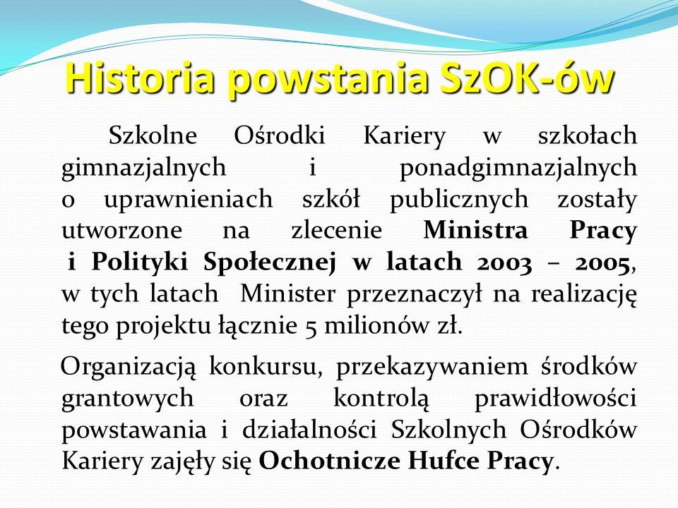 Historia powstania SzOK-ów