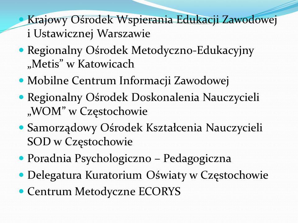 Krajowy Ośrodek Wspierania Edukacji Zawodowej i Ustawicznej Warszawie