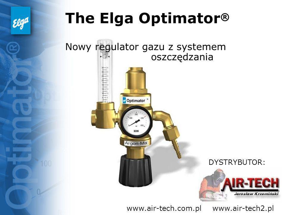 The Elga Optimator® Nowy regulator gazu z systemem oszczędzania
