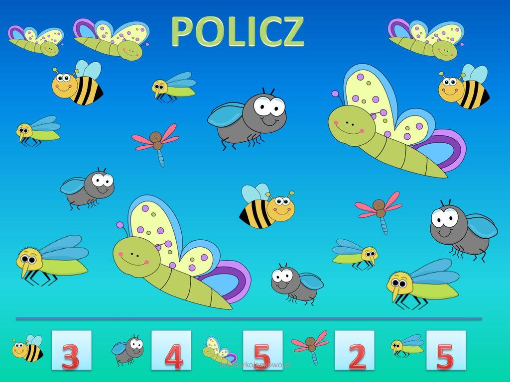 POLICZ 3 4 5 2 5 przedszkolankowo.pl