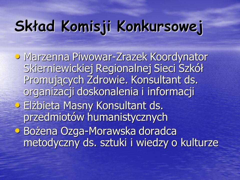 Skład Komisji Konkursowej