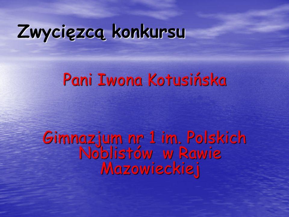 Gimnazjum nr 1 im. Polskich Noblistów w Rawie Mazowieckiej