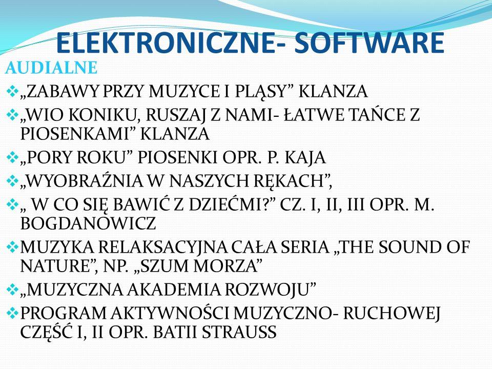 ELEKTRONICZNE- SOFTWARE