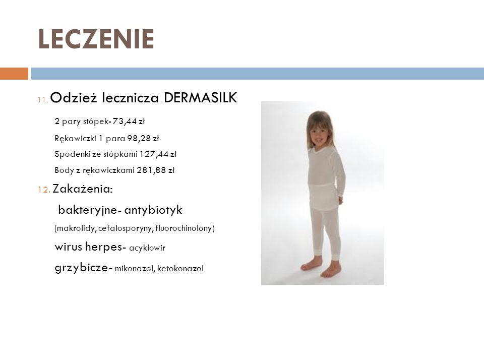 LECZENIE 2 pary stópek- 73,44 zł bakteryjne- antybiotyk