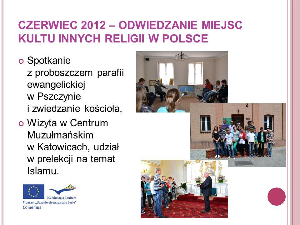 CZERWIEC 2012 – ODWIEDZANIE MIEJSC KULTU INNYCH RELIGII W POLSCE