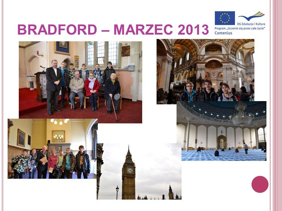 BRADFORD – MARZEC 2013