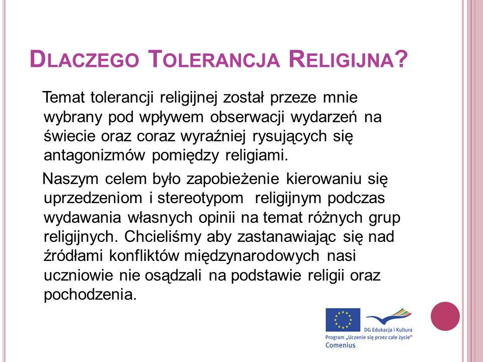 Dlaczego Tolerancja Religijna