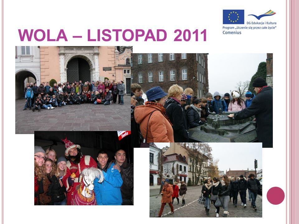 WOLA – LISTOPAD 2011