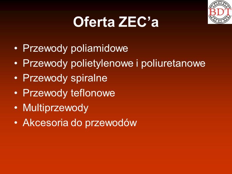 Oferta ZEC'a Przewody poliamidowe