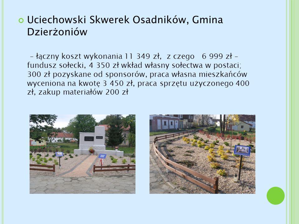 Uciechowski Skwerek Osadników, Gmina Dzierżoniów