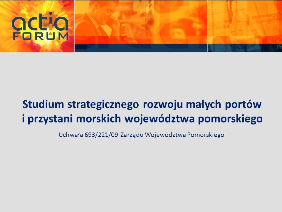 Studium strategicznego rozwoju małych portów