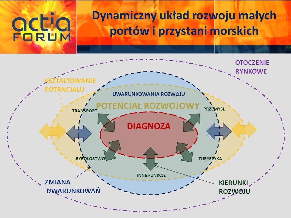 Dynamiczny układ rozwoju małych portów i przystani morskich