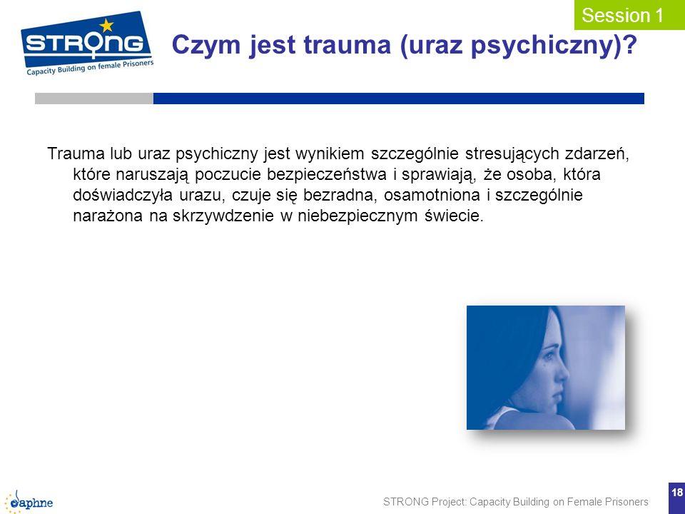 Czym jest trauma (uraz psychiczny)