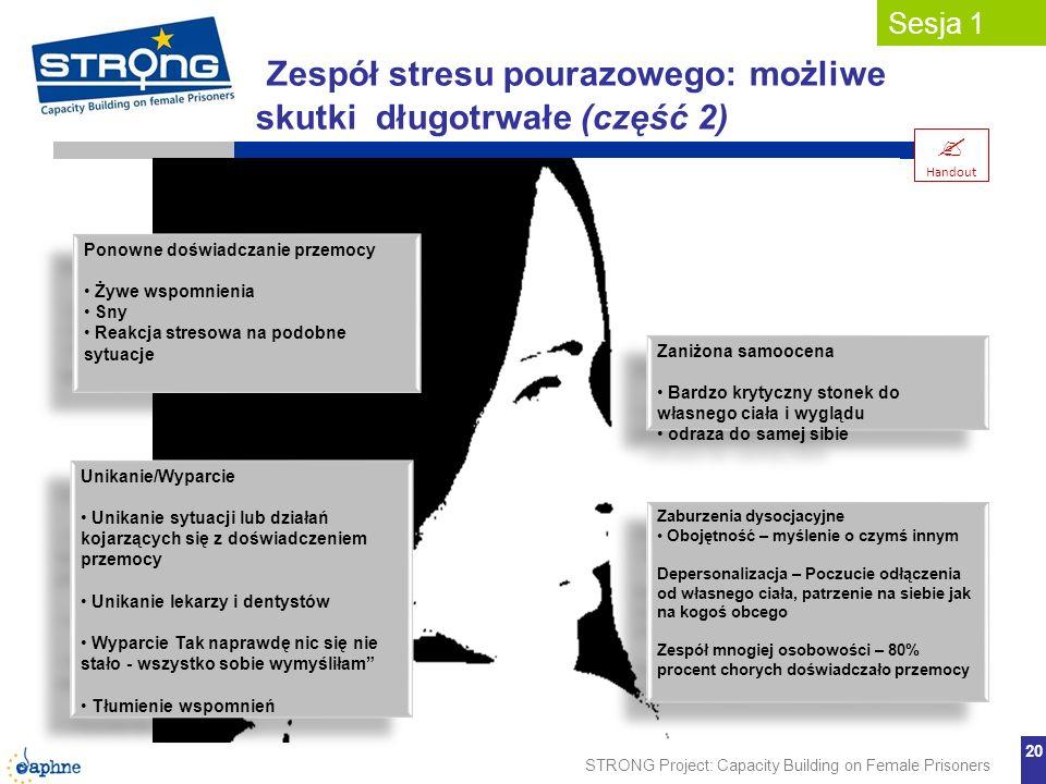 Zespół stresu pourazowego: możliwe skutki długotrwałe (część 2)
