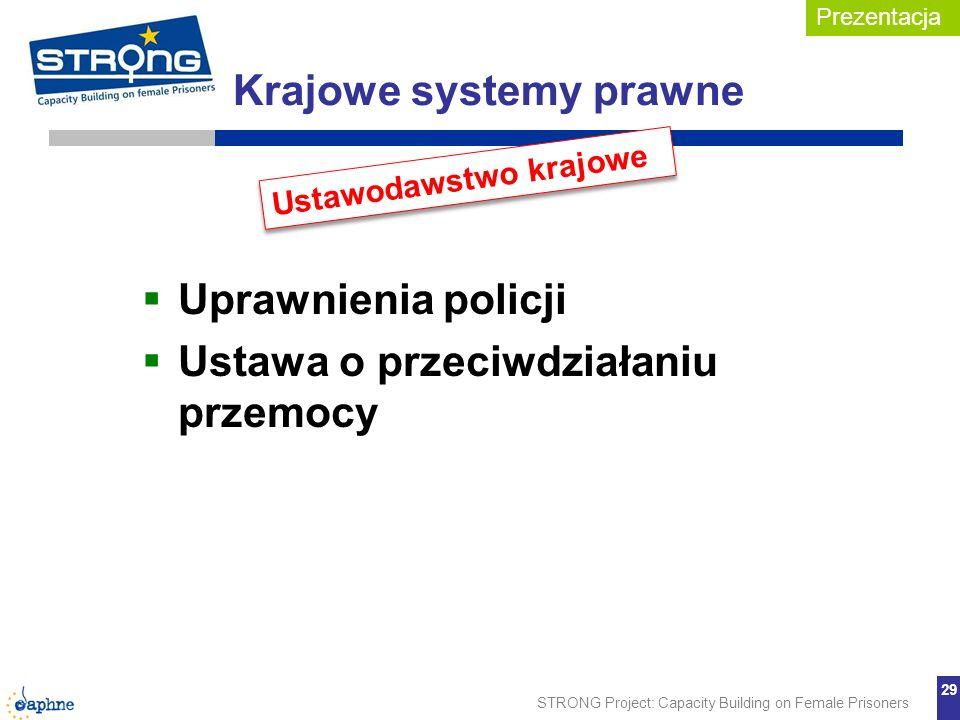 Krajowe systemy prawne