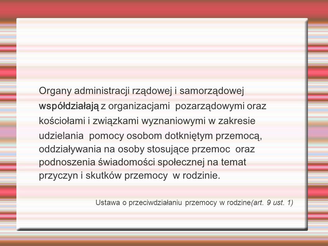 Organy administracji rządowej i samorządowej