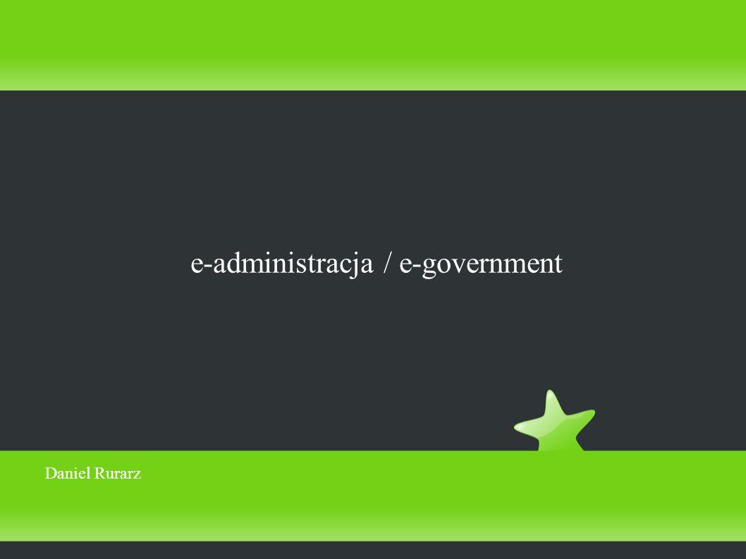 e-administracja / e-government