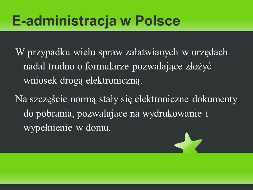 E-administracja w Polsce