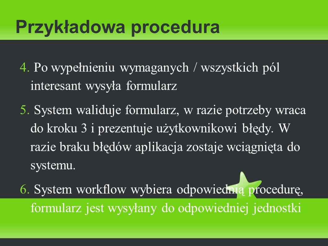 Przykładowa procedura