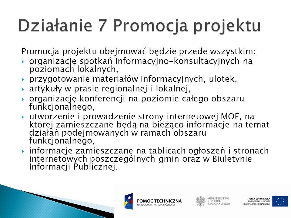 Działanie 7 Promocja projektu