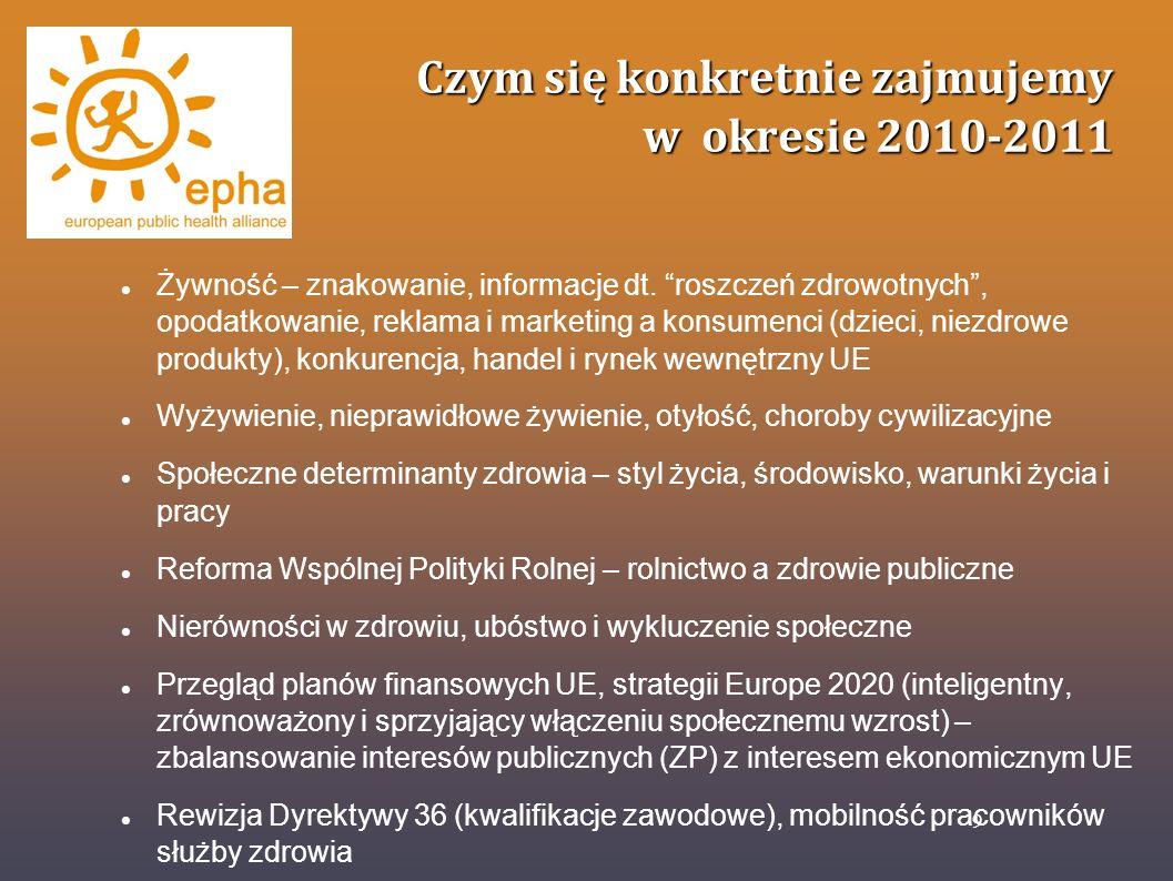 Czym się konkretnie zajmujemy w okresie 2010-2011