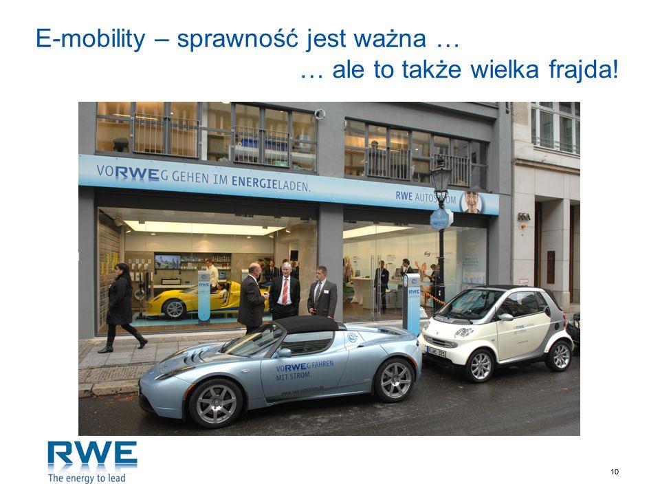 E-mobility – sprawność jest ważna … … ale to także wielka frajda!