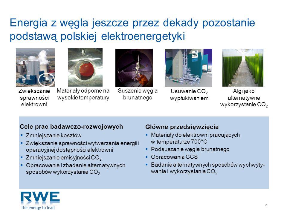Energia z węgla jeszcze przez dekady pozostanie podstawą polskiej elektroenergetyki