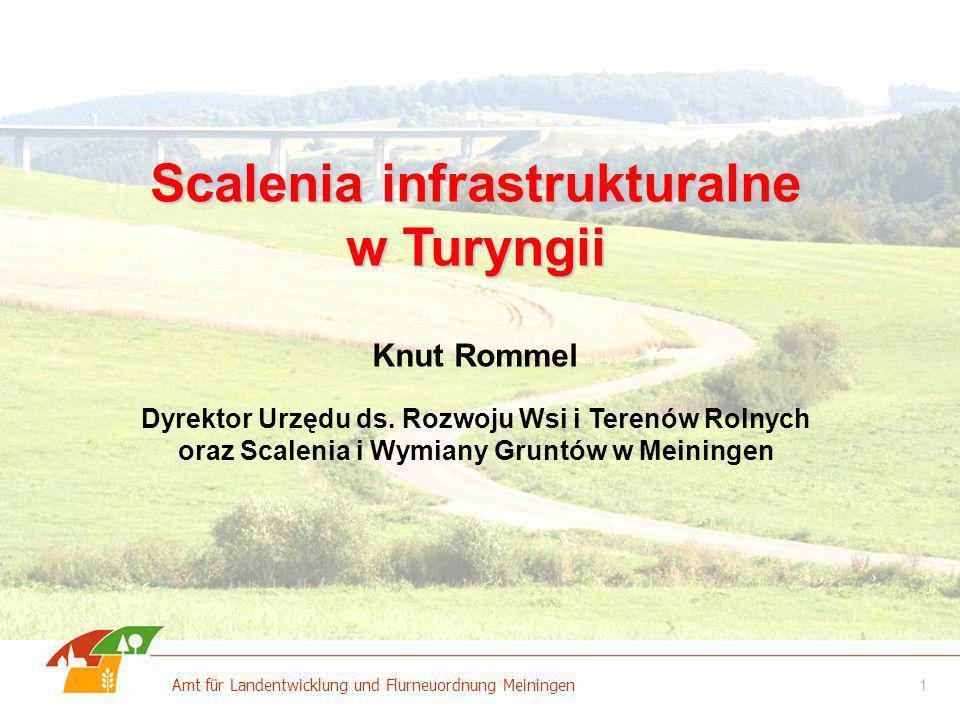 Scalenia infrastrukturalne w Turyngii