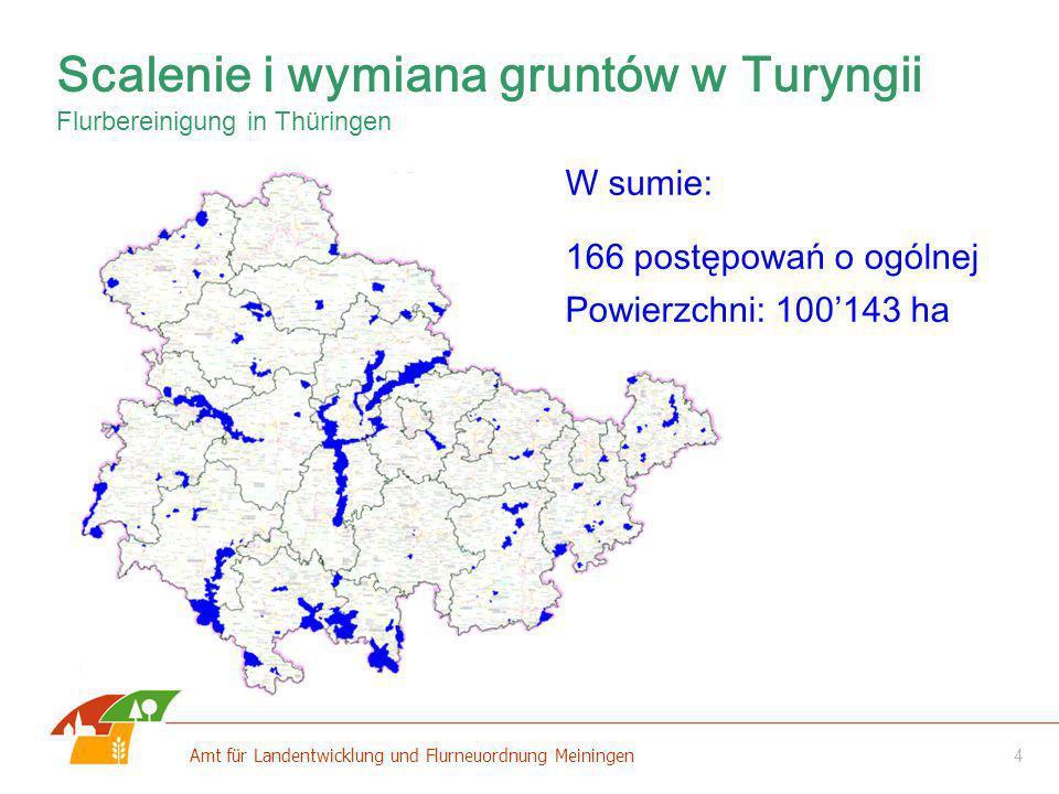 Scalenie i wymiana gruntów w Turyngii