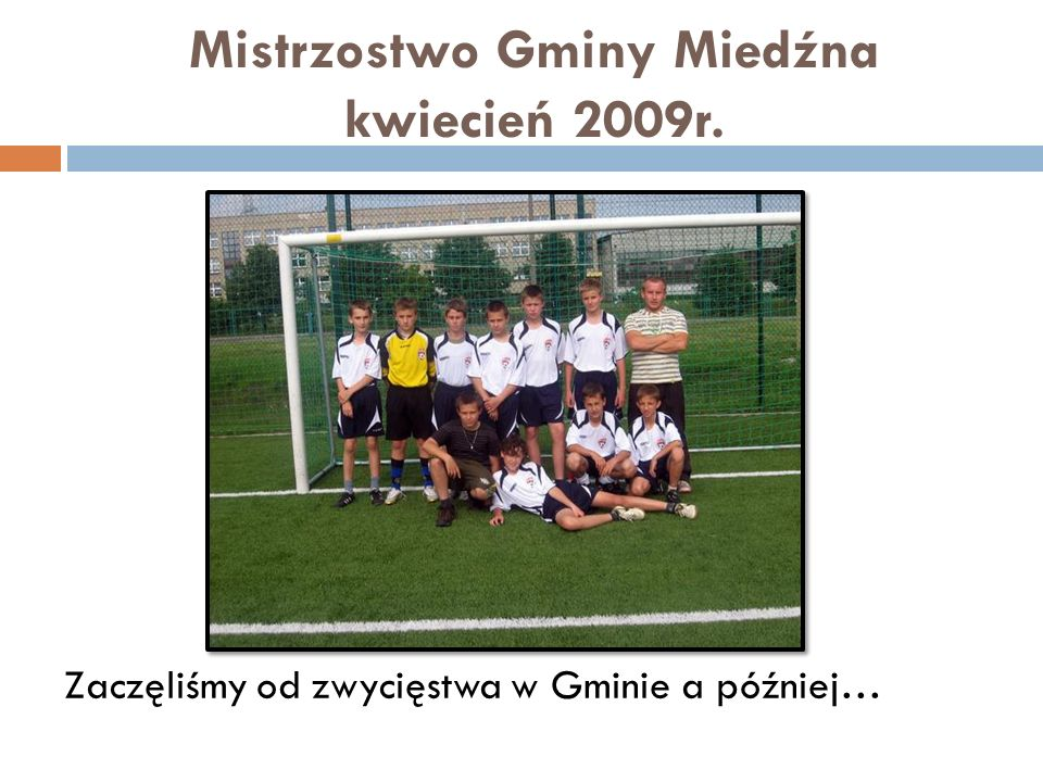 Mistrzostwo Gminy Miedźna kwiecień 2009r.
