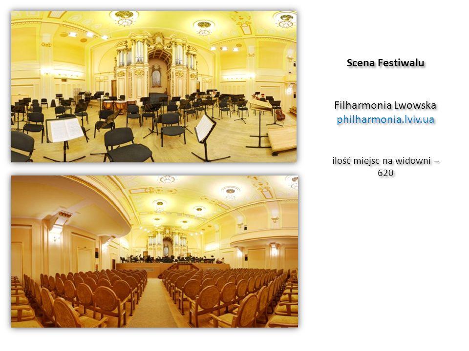 Scena Festiwalu Filharmonia Lwowska philharmonia. lviv