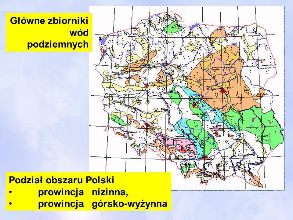 Główne zbiorniki wód podziemnych