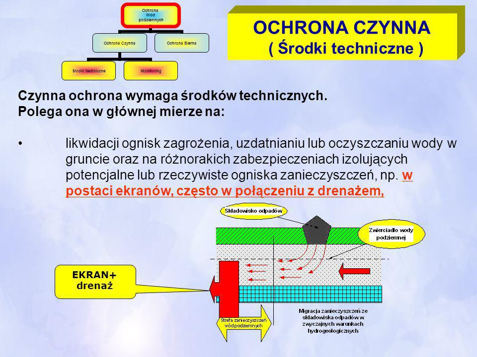 OCHRONA CZYNNA ( Środki techniczne )