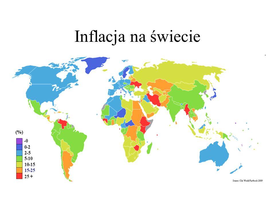 Inflacja na świecie