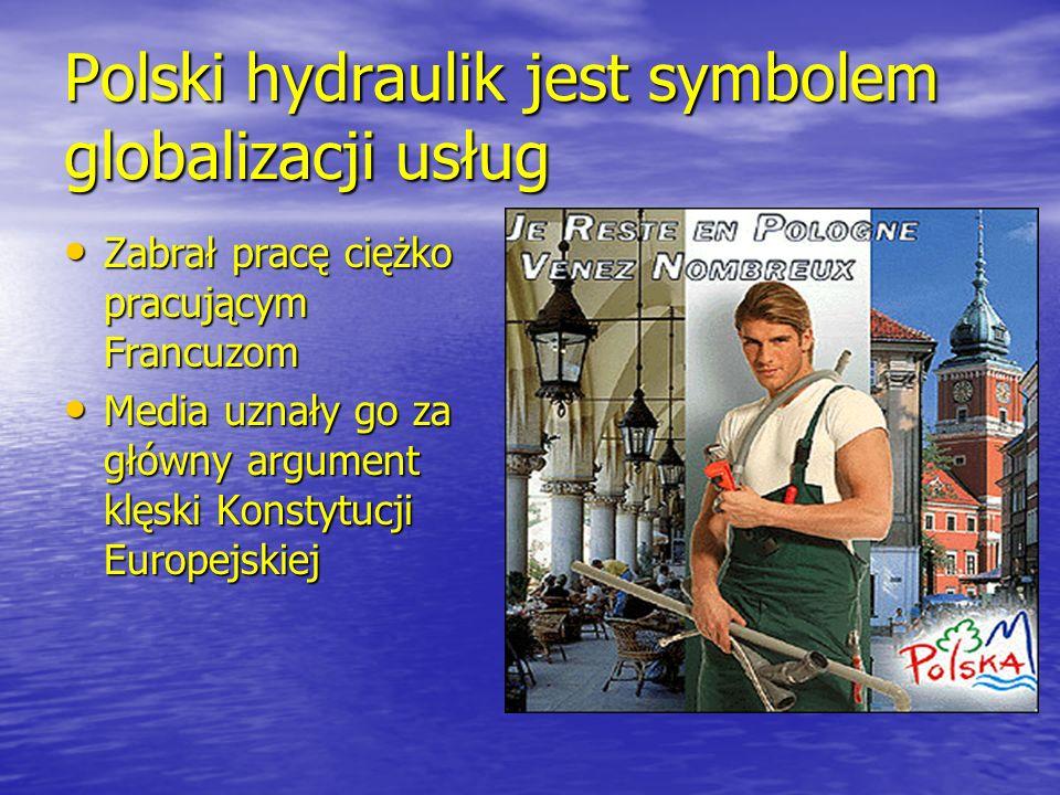 Polski hydraulik jest symbolem globalizacji usług