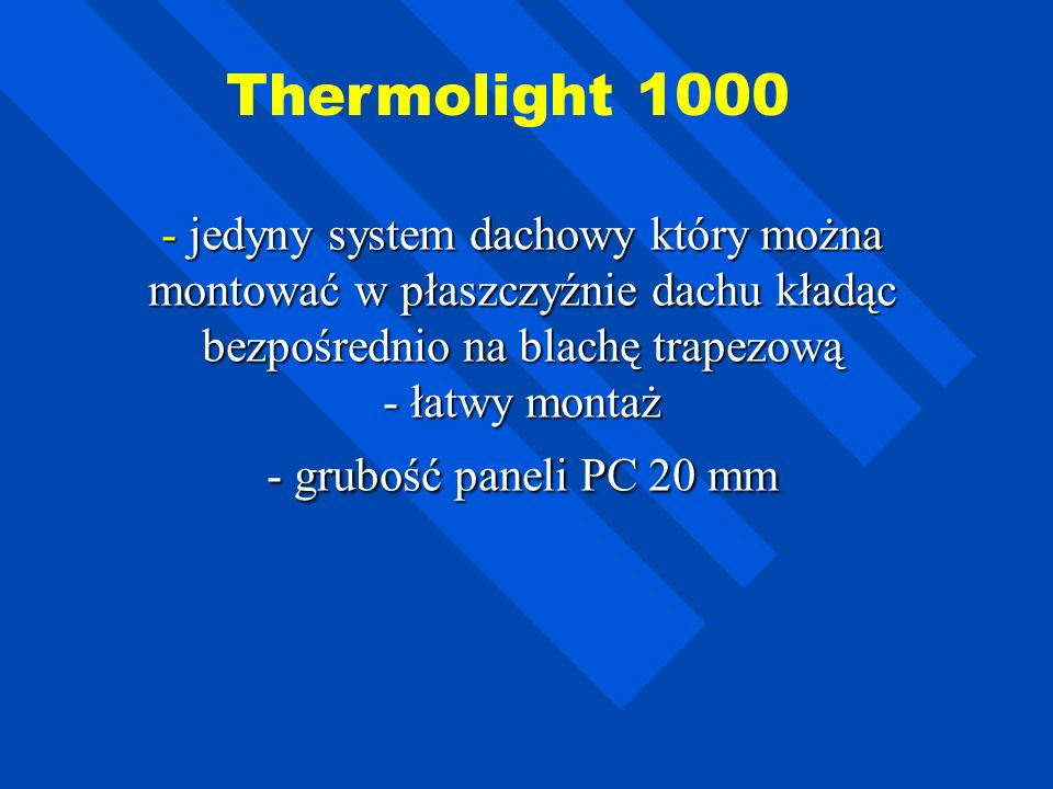 Thermolight 1000