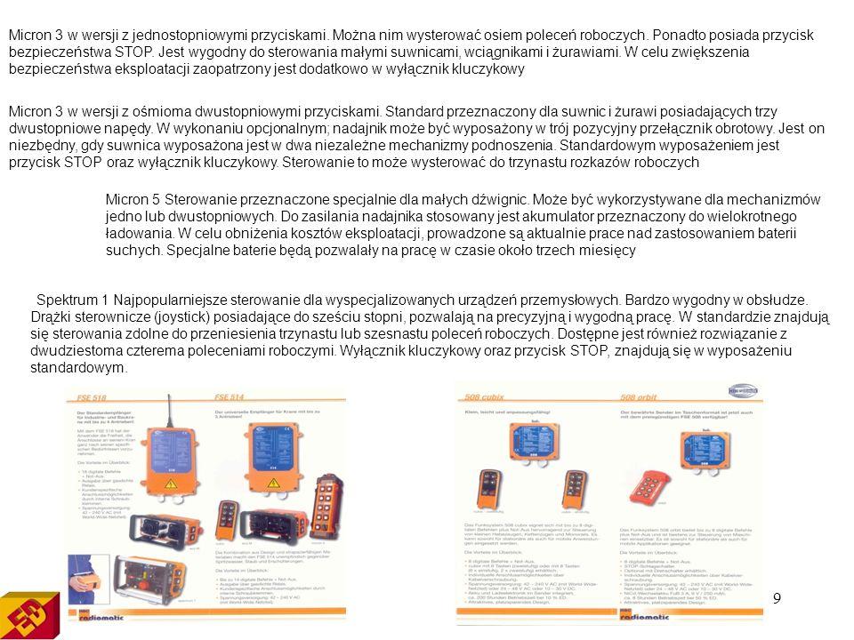 Micron 3 w wersji z jednostopniowymi przyciskami