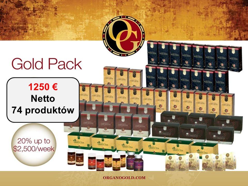 1250 € Netto 74 produktów