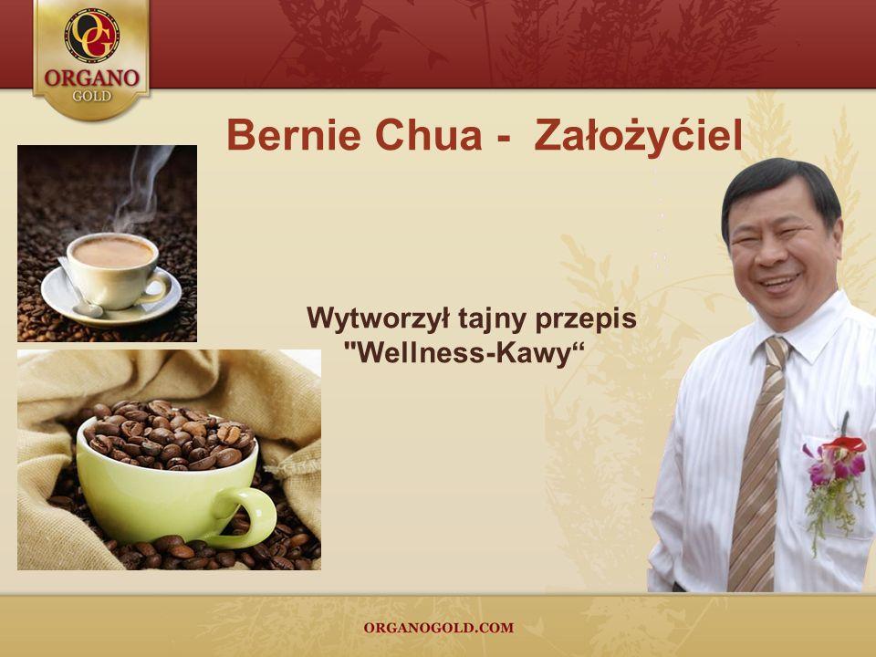 Bernie Chua - Założyćiel Wytworzył tajny przepis