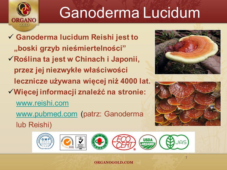Ganoderma Lucidum Ganoderma lucidum Reishi jest to
