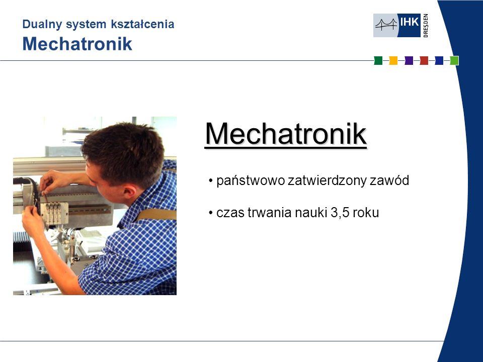 Dualny system kształcenia Mechatronik